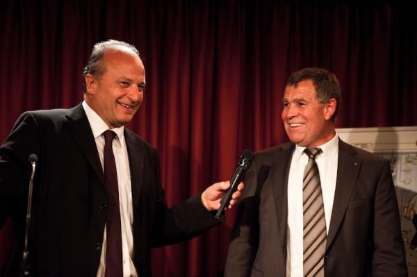 10 Jahre Avenir Suisse Filippo Leutenegger und Ernst Stocker