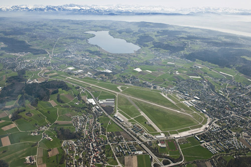 Der Flugplatz Dübendorf (© Schweizer Luftwaffe)