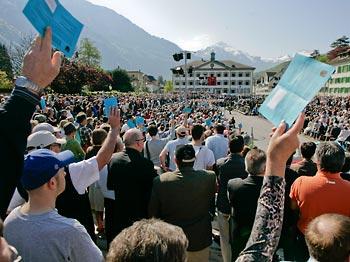 Standortwettbewerb dank direkter Demokratie | Avenir Suisse