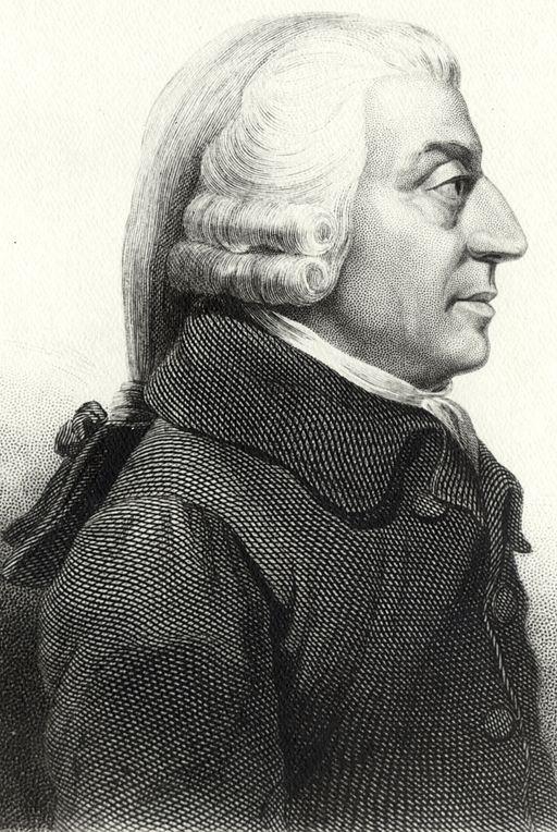 Adam Smith (Quelle:Wikimedia Commons)