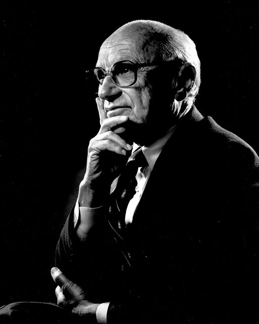 Milton Friedman (Quelle: Wikimedia Commons)