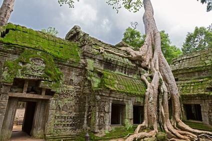 """Dieser Tempel in Kambodscha diente als Drehort für den Film """"Tomb Raider"""". Quelle: Fotolia"""