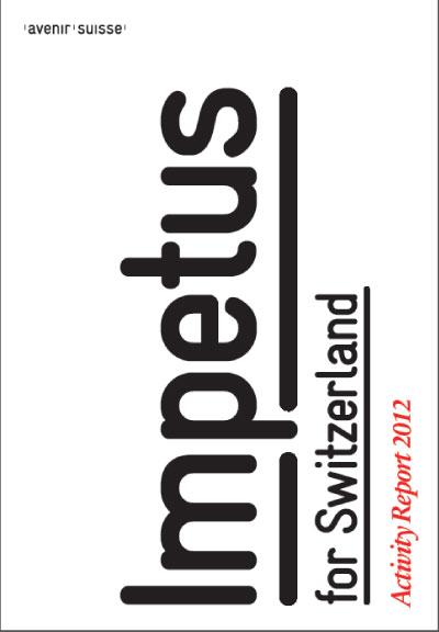 Avenir Suisse Annual Report 2013