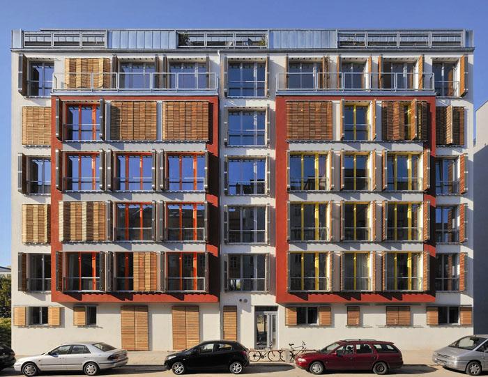 Energiewende in Deutschland: Passivhaus in Berlin-Mitte. © Deimel Oelschläger Architekten, Bild: Svea Pietschmann
