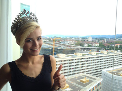 Dominique Rinderknecht, Miss Schweiz 2013