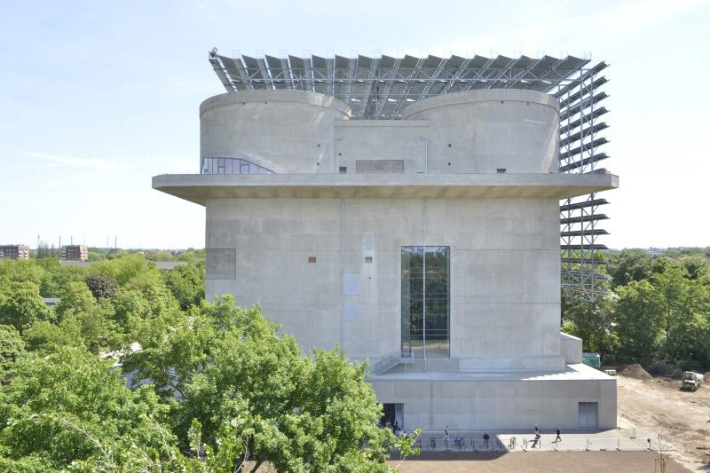 Energiebunker Hamburg, Bild:IBA Hamburg GmbH / Martin Kunze