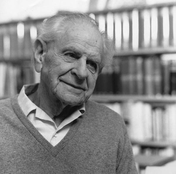 «Bei der Intoleranz hat die Toleranz ihre Grenzen» - Zitat von Karl Popper