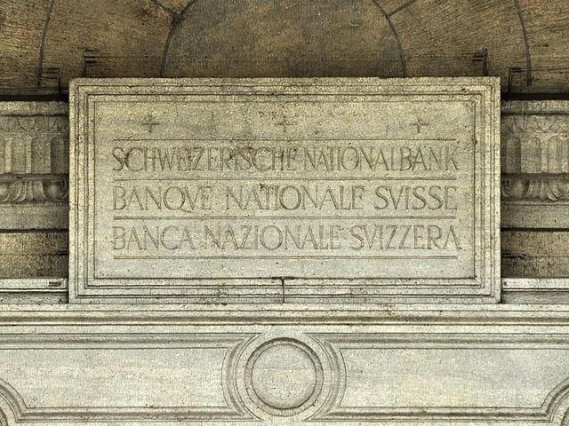 Schweizerische Nationalbank. (Wikimedia Commons)