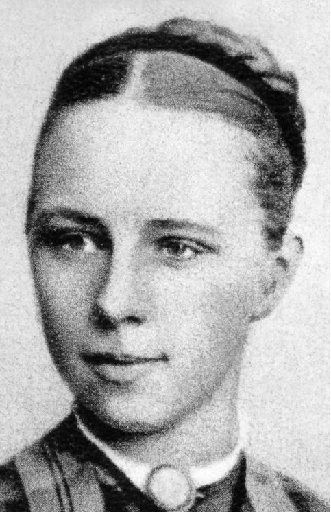 Emilie Kempin-Spyri en jeune étudiante