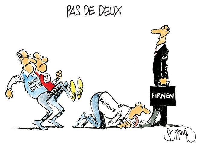 Karikatur: Felix Schaad