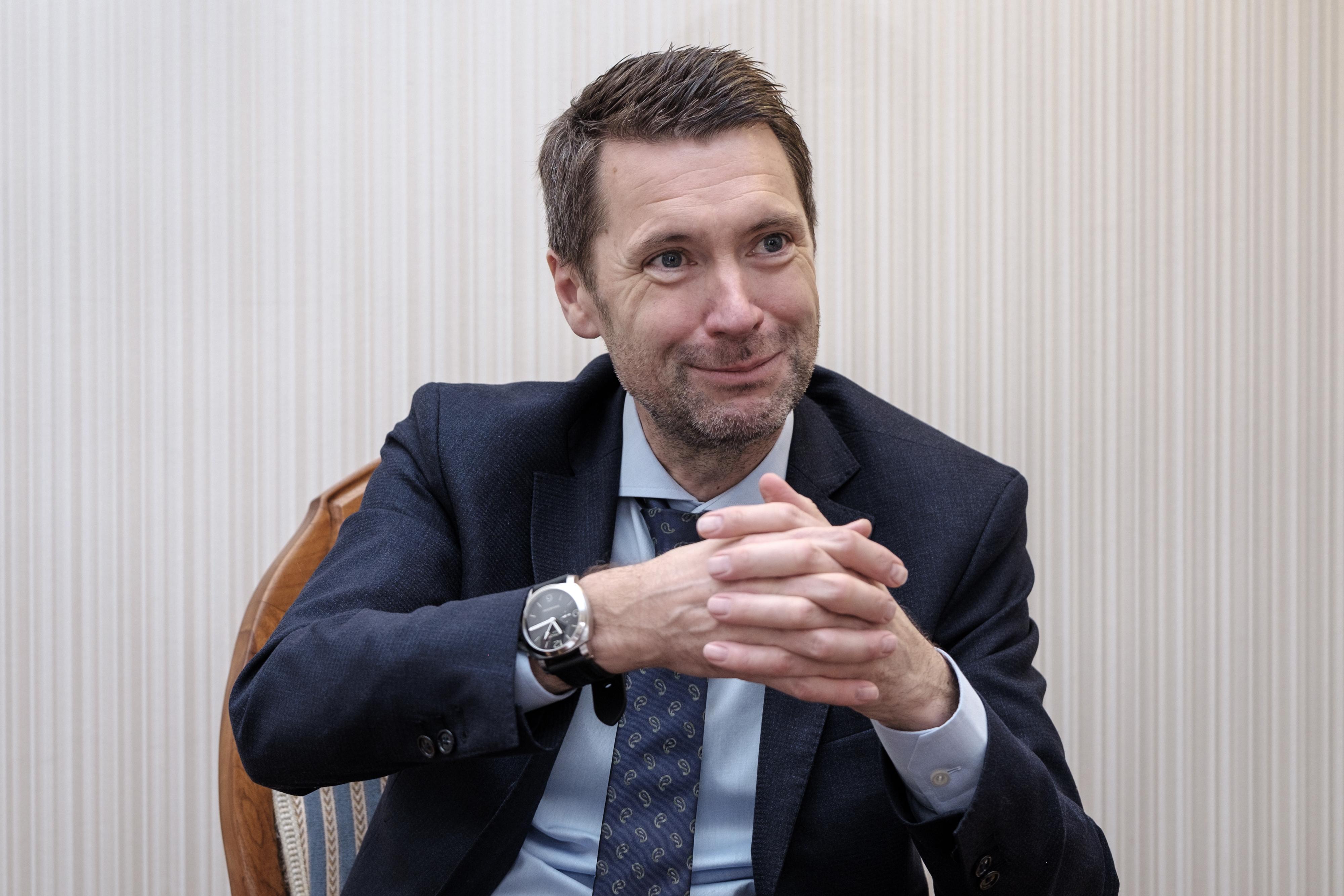 Peter Grünenfelder im Interview. (Foto Mario Heller)