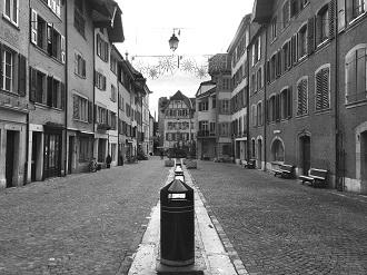 Verödung der Ortszentren: Immer mehr Schweizer Städte und Gemeinden stehen vor einem tief greifenden Wandel. (Foto: Rahel Hediger)