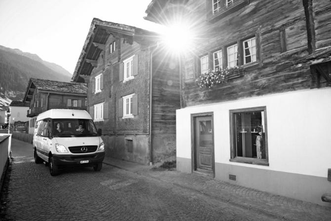 PubliCar in Vals. (Bild PD PostAuto)